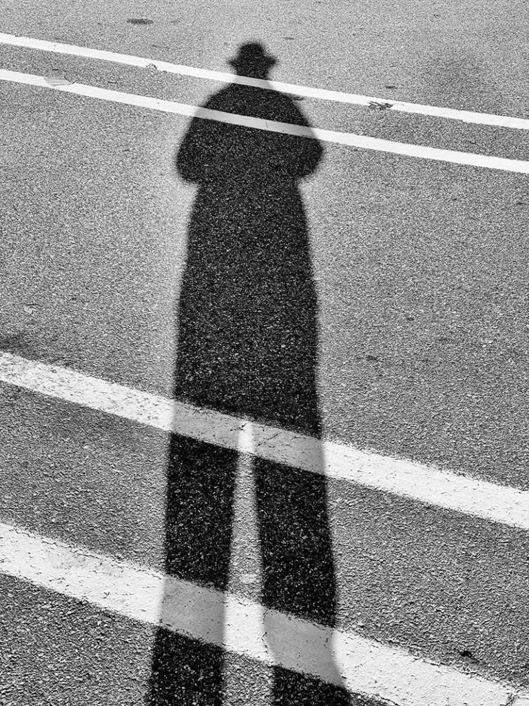 just a a shadow former self