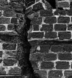 broken bricks