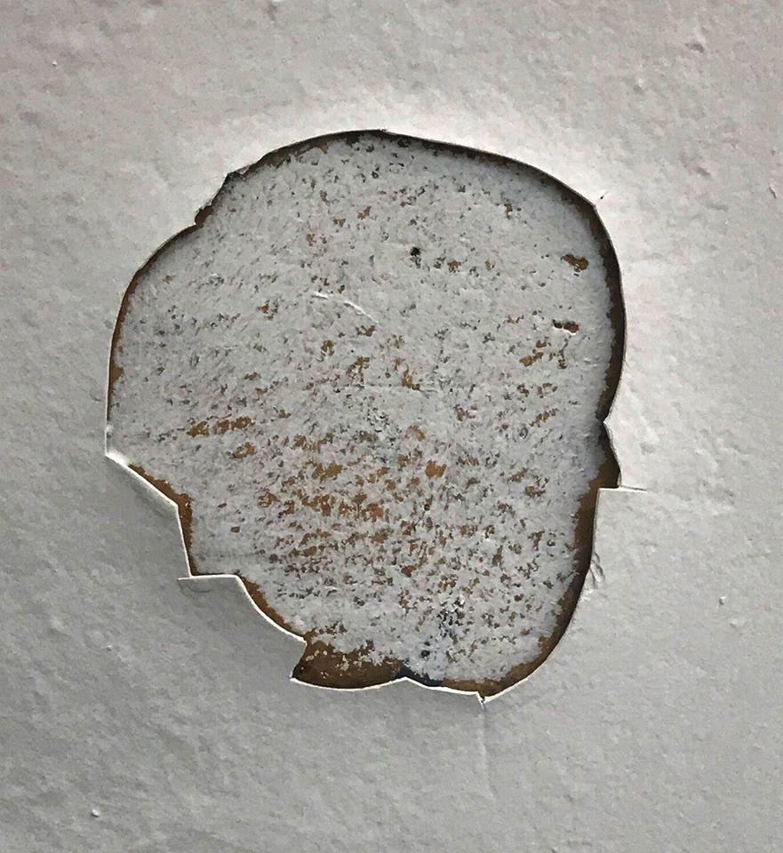 peeling paint face image