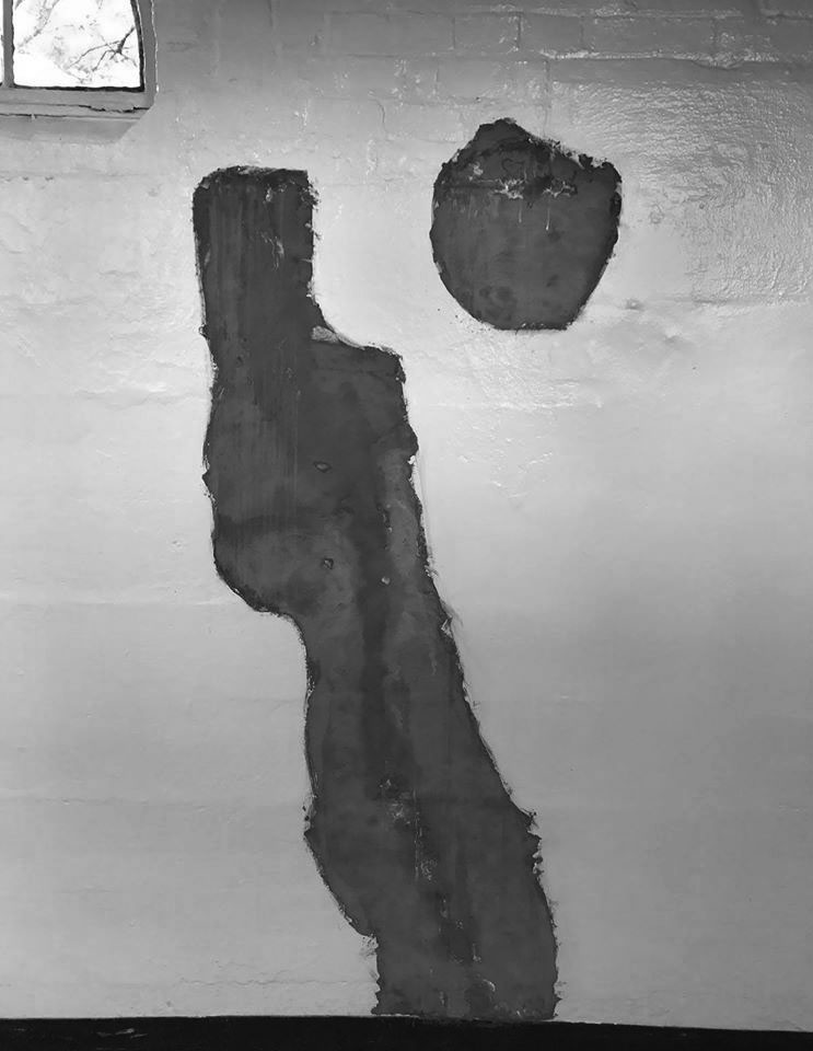headless wall abstract