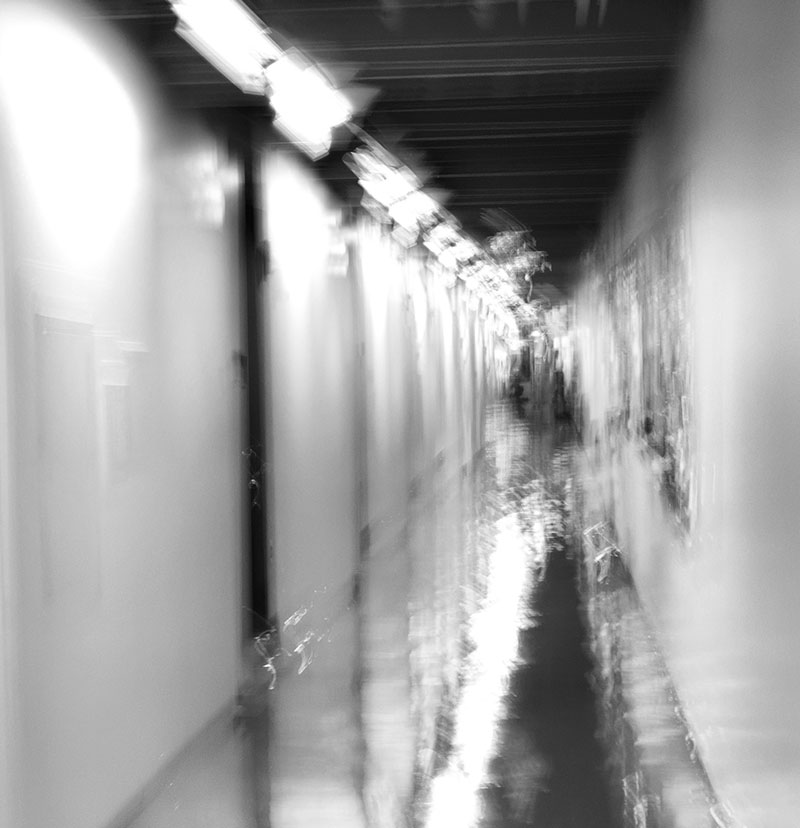 hallway abstract