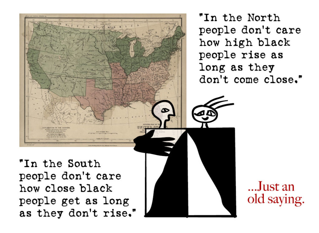 north vs south saying